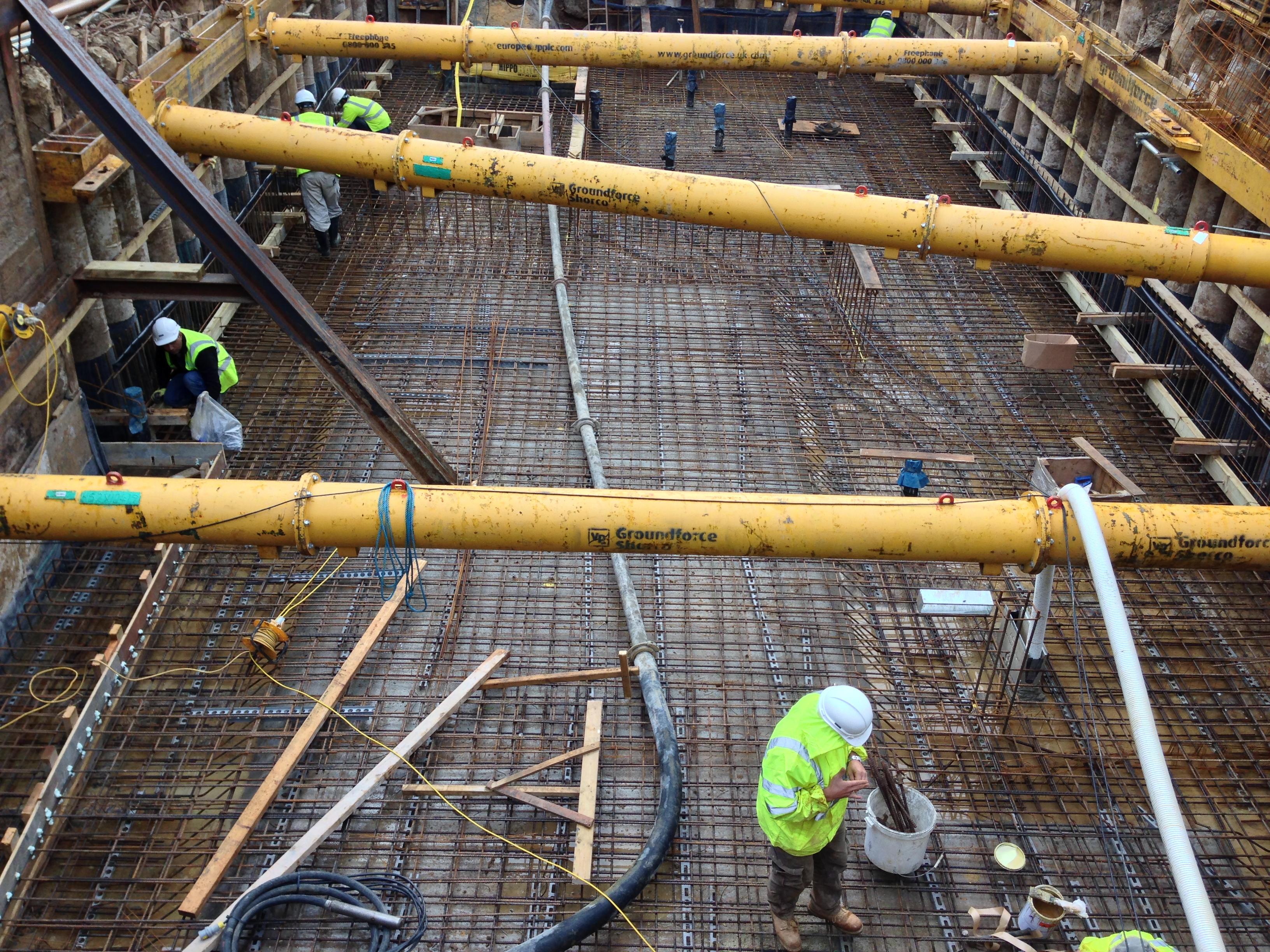 Shuttering For Bridges : Daniel son project services ltd groundworks london